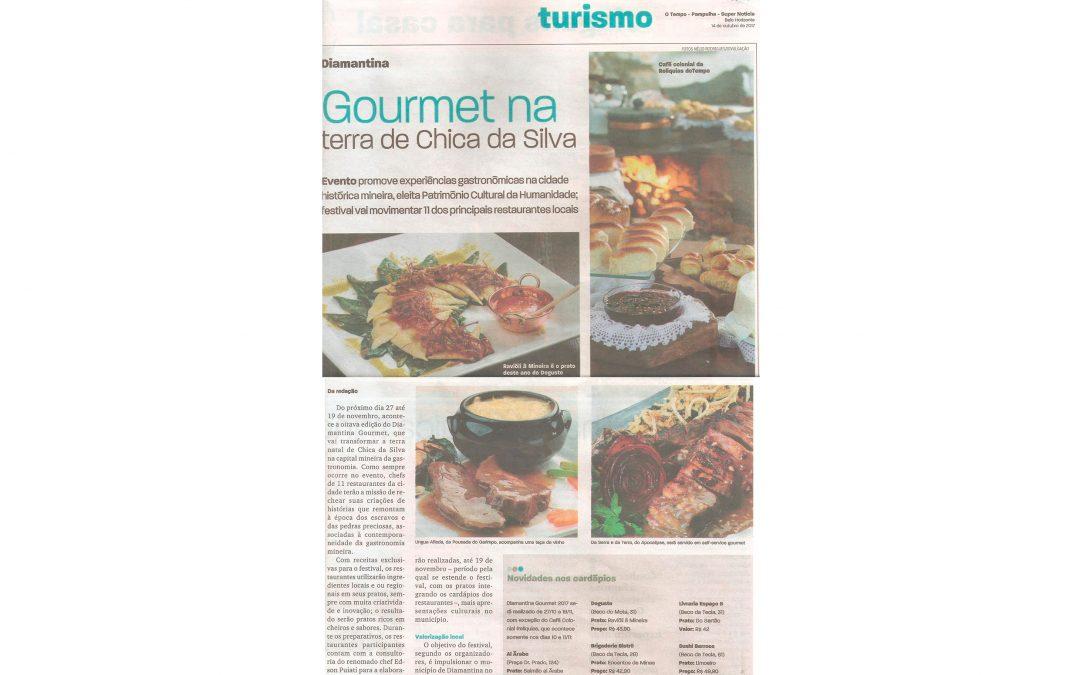 Diamantina Gourmet – Jornal O Tempo