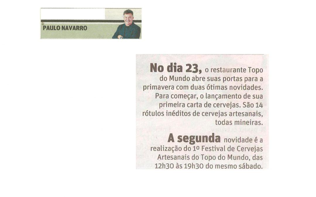 Restaurante Topo do Mundo – Jornal O Tempo