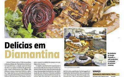 Diamantina Gourmet  – Jornal Estado De Minas