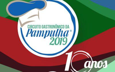 Circuito Gastronômico da Pampulha comemora sua 10ª edição em 2019