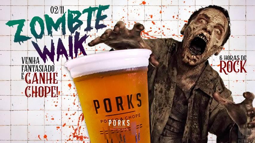 Zombie Walk na Praça Tiradentes terá comemoração especial