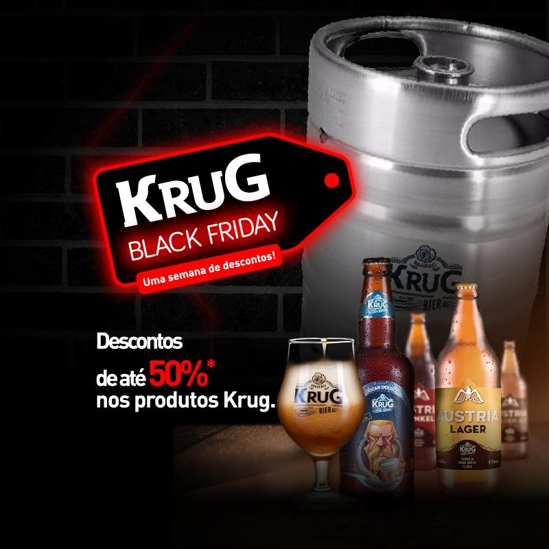 Black Friday Krug Bier