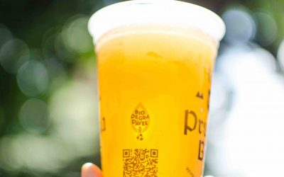 Copos biodegradáveis ganham espaço na Prussia