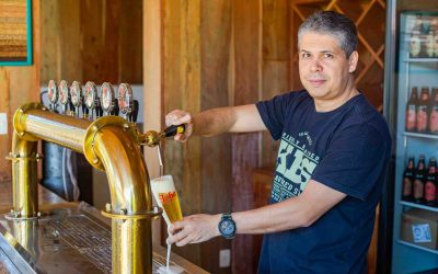 Cervejaria Loba fatura ouro no Concurso Brasileiro de Cervejas em Blumenau com sua Old Aged Ale