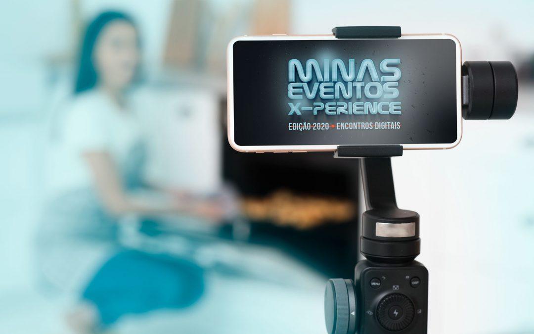 Edição Minas Eventos X-perience será virtual em 2020