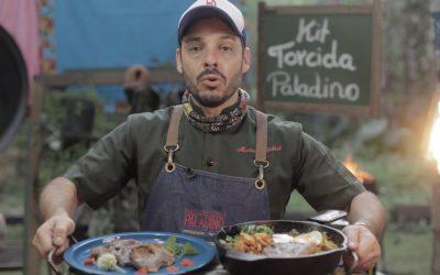 Torcida Paladino – restaurante lança kits especiais para torcer em casa
