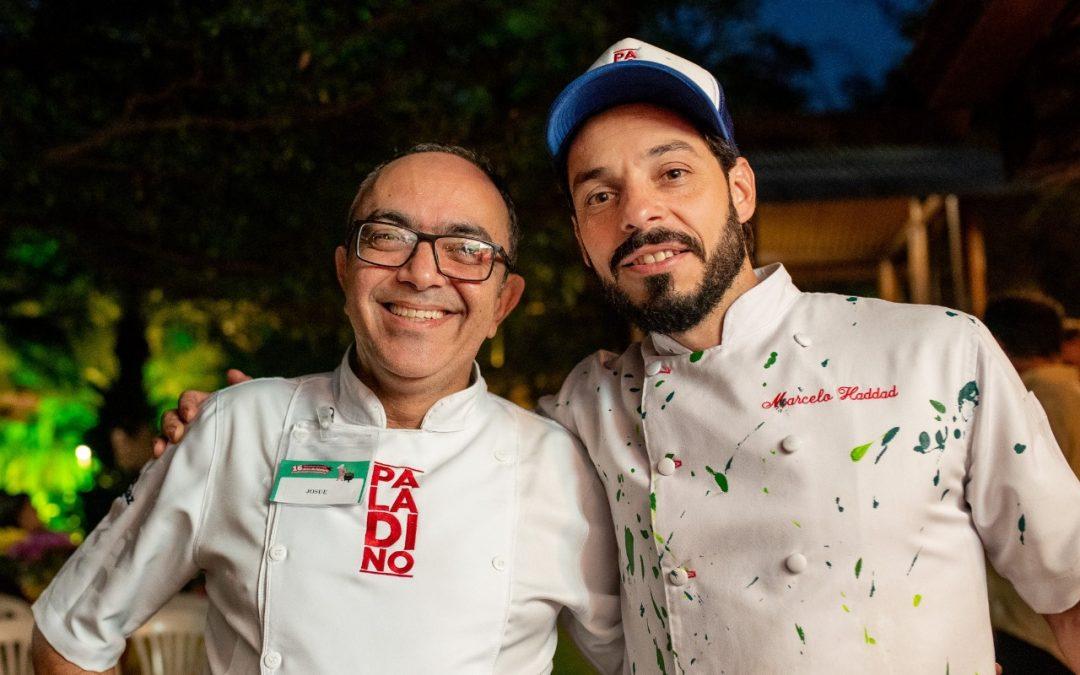 Confraria Especial com Chef Josué Monteiro e Marcelo Haddad do Paladino