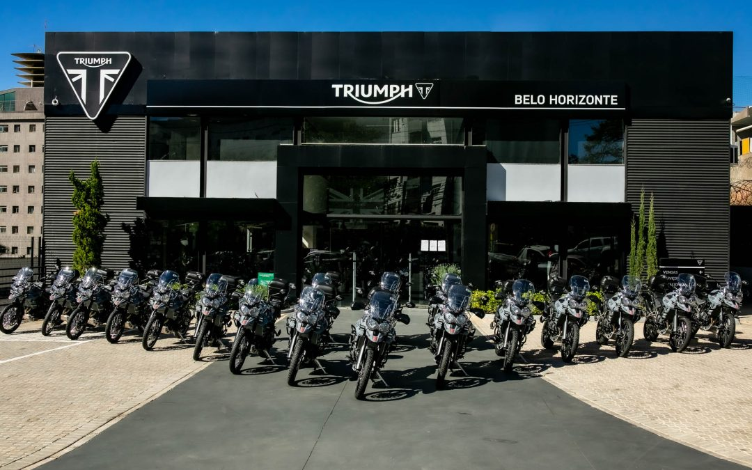 Projeto Motociclistas do Bem recolhe donativos na Triumph BH