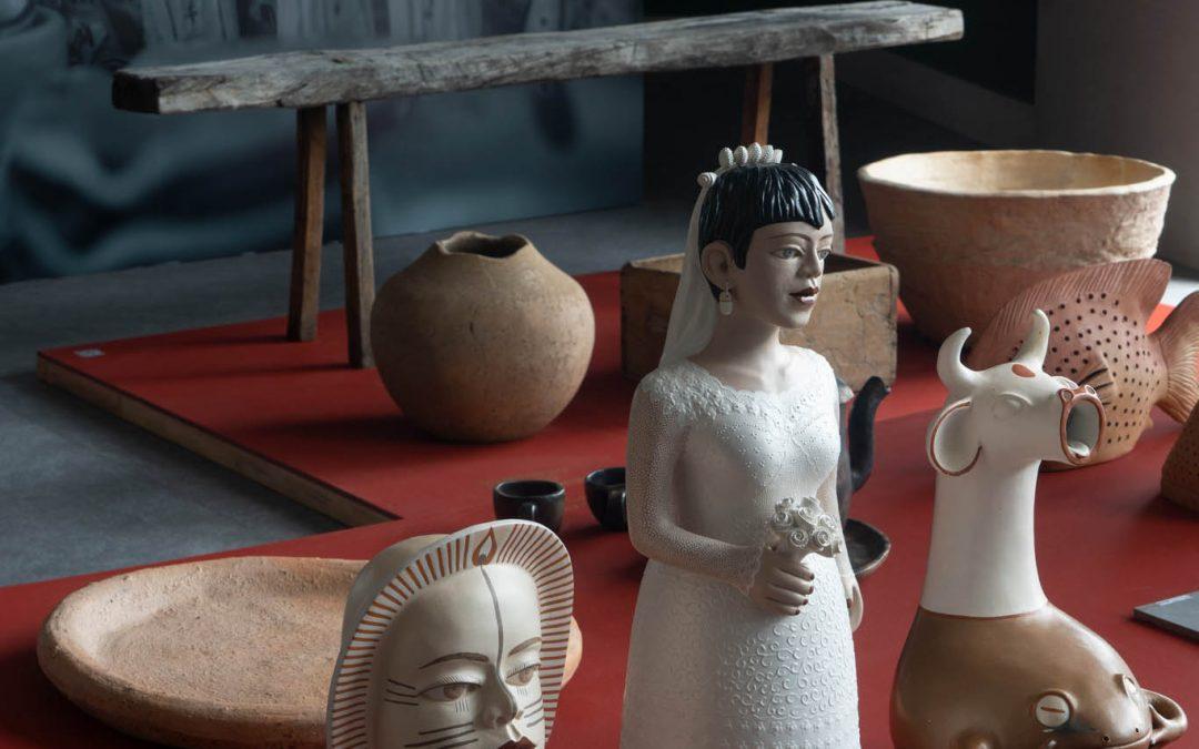 BEL LAR promove live para vender peças que estão em exposição em A Contemporaneidade da Arte Popular