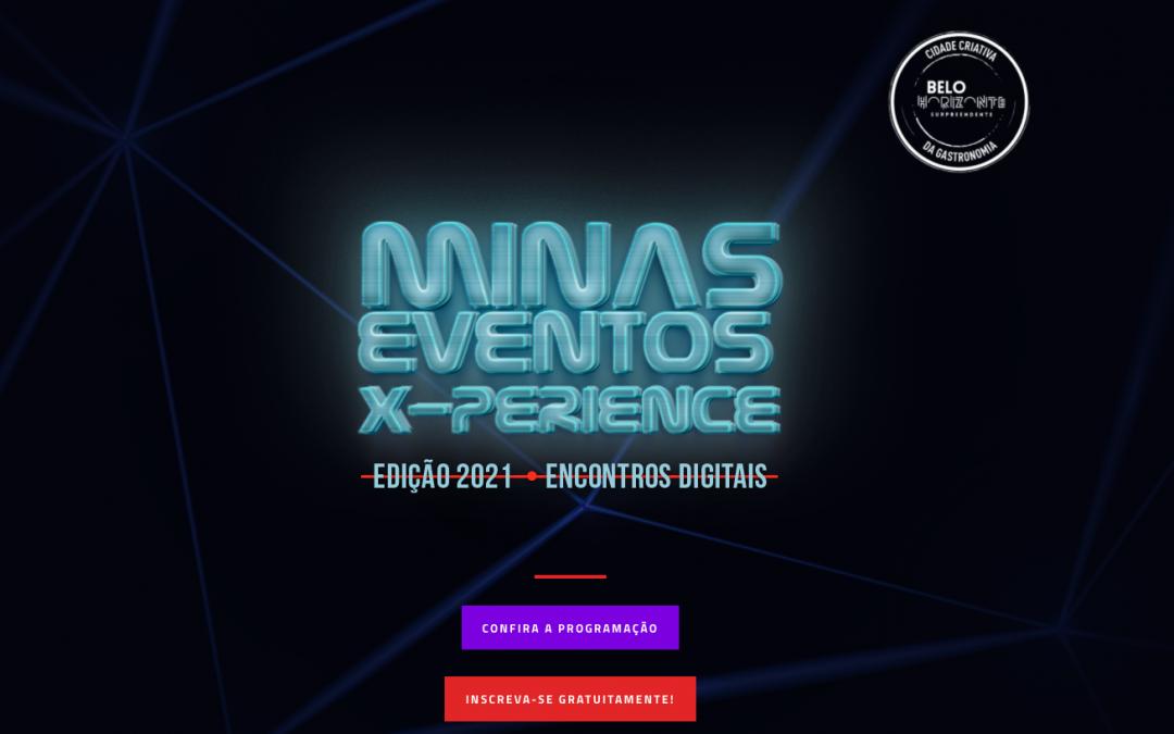 Edição Minas Eventos X-Perience foca na capacitaçãode profissionais para o mercado de eventos 2021
